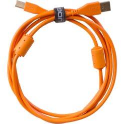 UDG U95001OR - ULTIMATE AUDIO CABLE  USB 2.0 A-B ORANGE STRAIGHT 1M
