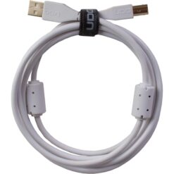 UDG U95001WH - ULTIMATE AUDIO CABLE USB 2.0 A-B WHITE STRAIGHT  1M
