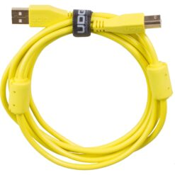 UDG U95001YL - ULTIMATE AUDIO CABLE USB 2.0 A-B YELLOW STRAIGHT 1M