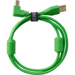 UDG U95004GR - ULTIMATE AUDIO CABLE USB 2.0 A-B GREEN ANGLED 1M
