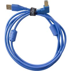 UDG U95004LB - ULTIMATE AUDIO CABLE USB 2.0 A-B BLUE ANGLED 1M