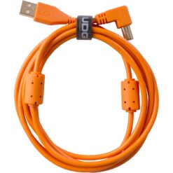UDG U95004OR - ULTIMATE AUDIO CABLE USB 2.0 A-B ORANGE ANGLED 1M