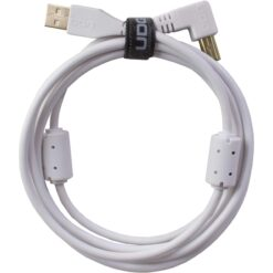UDG U95004WH - ULTIMATE AUDIO CABLE USB 2.0 A-B WHITE ANGLED 1M