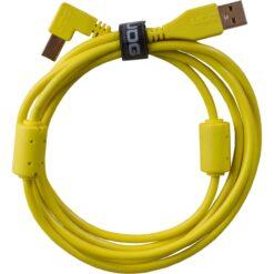 UDG U95005YL - ULTIMATE AUDIO CABLE USB 2.0 A-B YELLOW ANGLED 2M