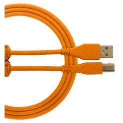 UDG U96001OR - ULTIMATE AUDIO CABLE USB 2.0 C-B ORANGE STRAIGHT 1,5M