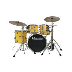 DIMAVERY DS-620 Drum Set, yellow