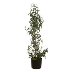 EUROPALMS Olive tree, artificial plant, 104 cm