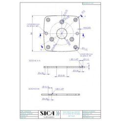 Q07320A - Adattatore per Driver In Ferrite e Trombe