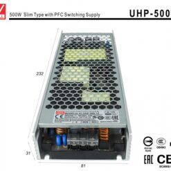 Alimentatore CV 12V 500W 41,7A Senza Ventola Trasformatore Da AC 220V Mean Well UHP-500-12