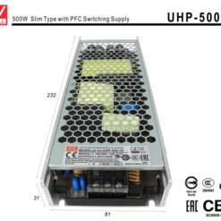 Alimentatore CV 24V 500W 20,9A Senza Ventola Trasformatore Da AC 220V A DC 24V Mean Well UHP-500-24