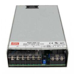 Alimentatore CV Trasformatore 500W 12V 41,7A Mean Well RSP-500-12