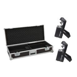 EUROLITE Set 2x LED TSL-1000 Scan + Case with trolley function