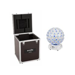 EUROLITE Set LED B-40 Laser Beam Effect white + Case