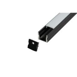 Profile Pro 30 Profilo nero - per strisce LED larghe